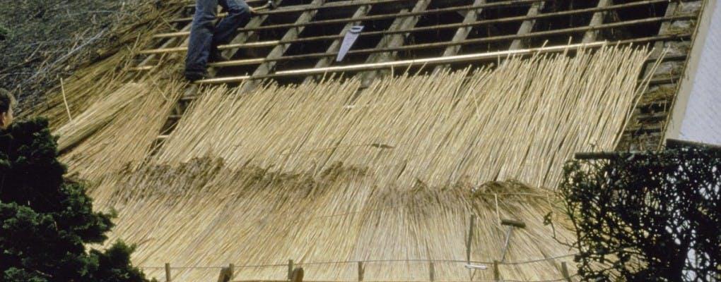 rieten dak laten leggen