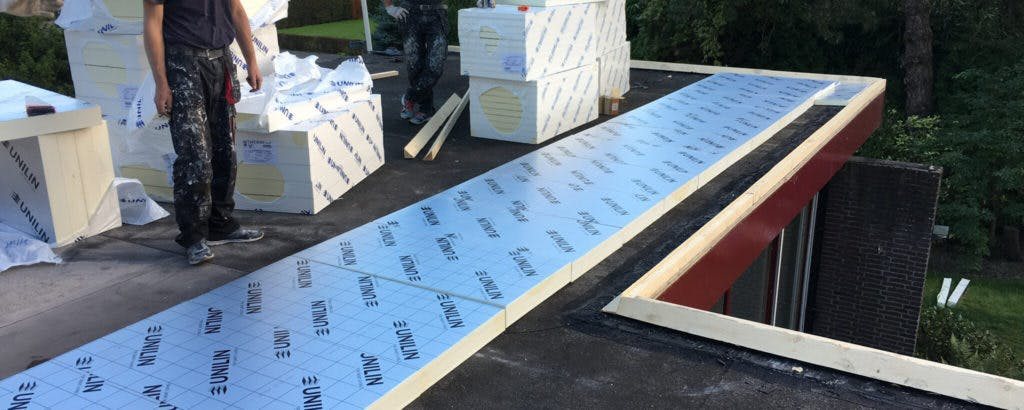 plat-dak-isolatie-aanbrengen
